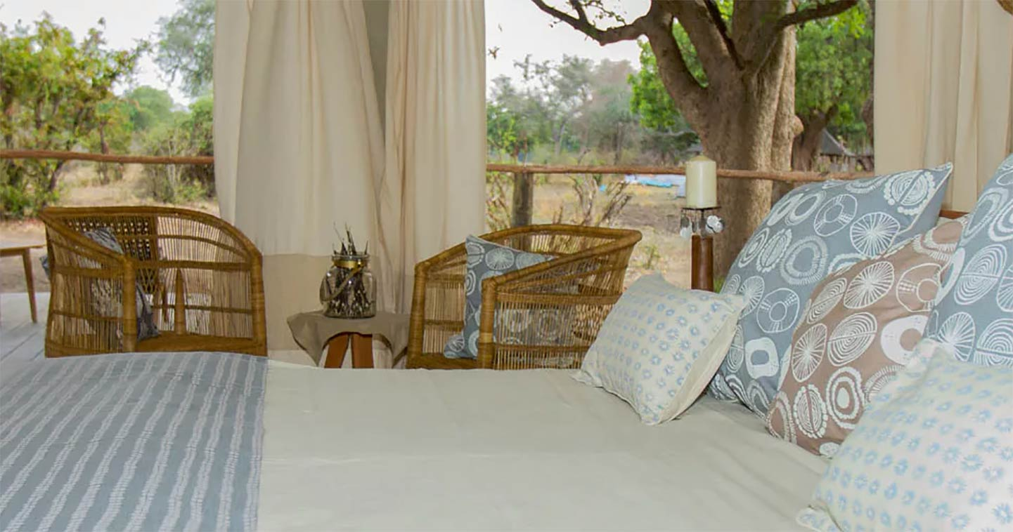 Bedroom Three Rivers in South Luangwa