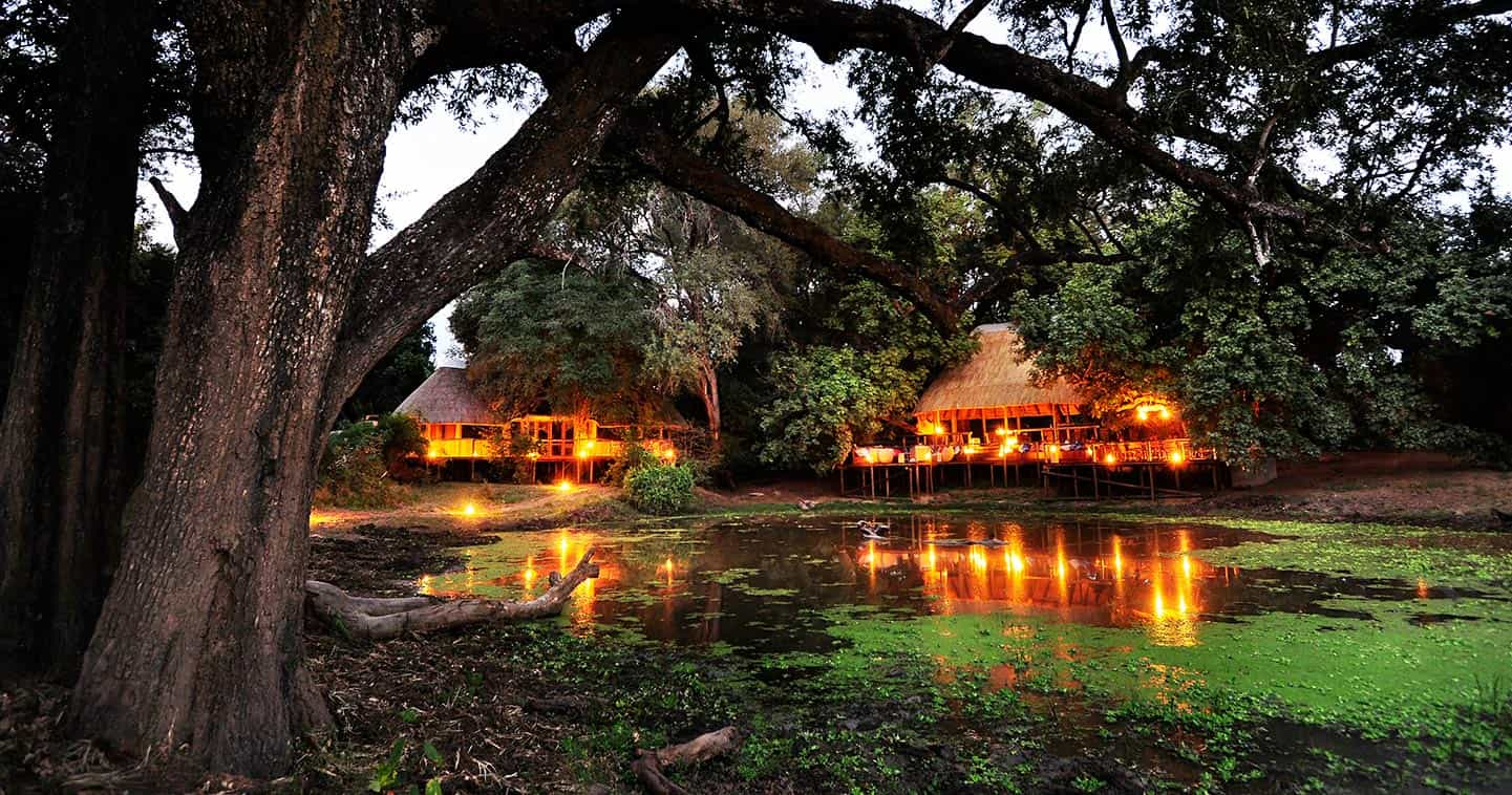 Bilimungwe Bush Camp in the South Luangwa National Park