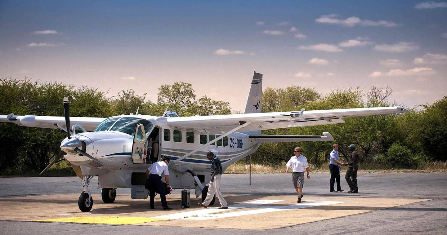 Easy access charter flight to South Luangwa National Park