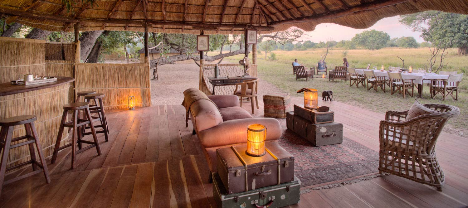 Luwi Bush Camp in Zambia for a safari