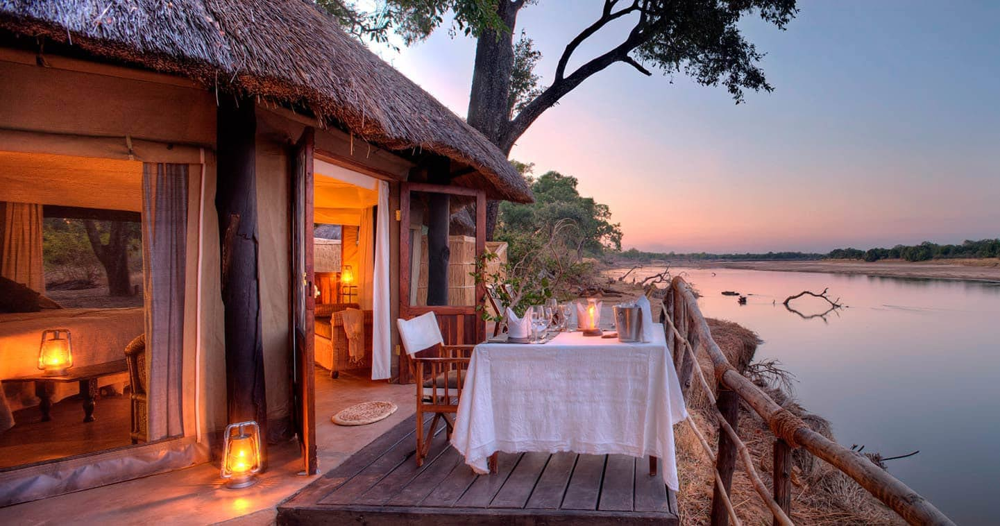 Mchenja Bush Camp in South Luangwa National Park - Zambia