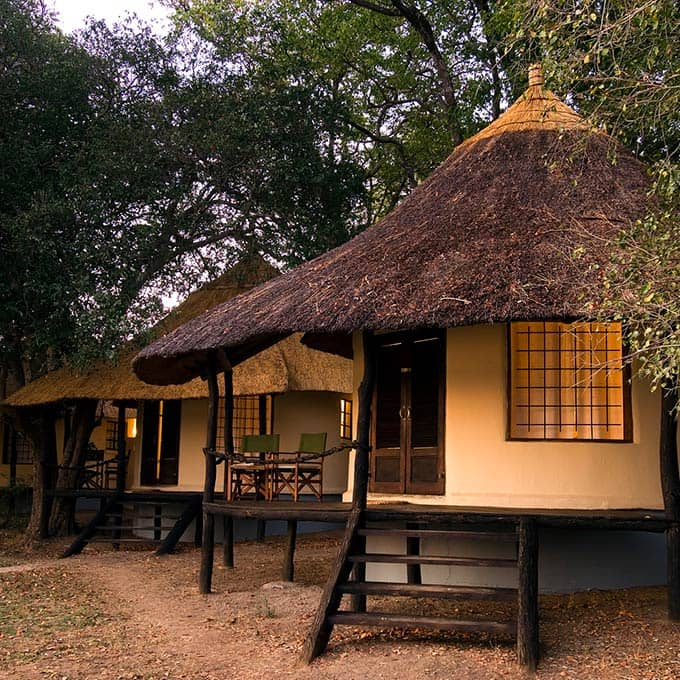 View Nsefu Camp in South Luangwa National Park