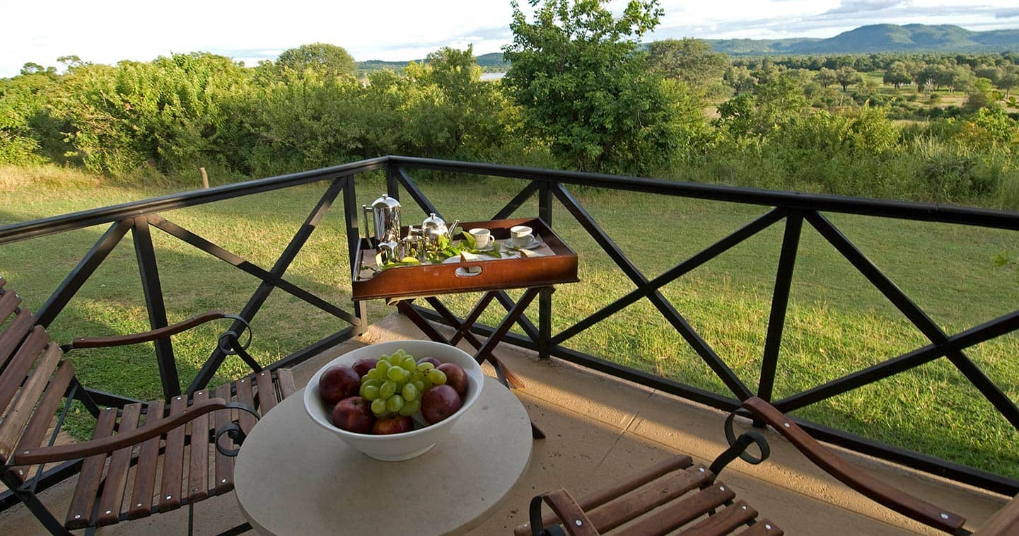Room view from Sanctuary Chichele Presidential Lodge in South Luangwa National Park - Zambia