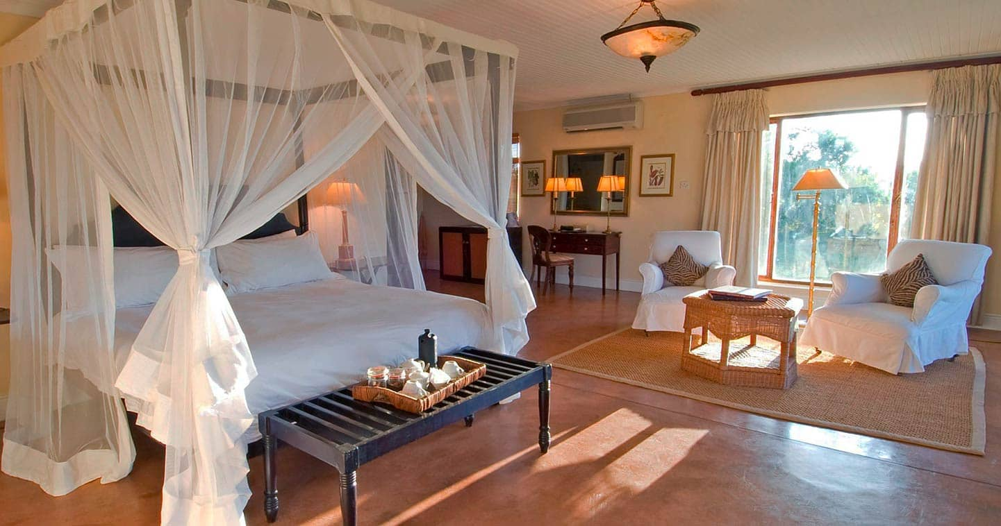 Bedroom at Sanctuary Chichele Presidential Lodge - South Luangwa