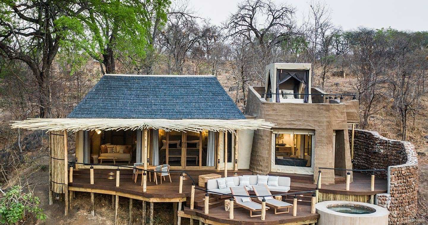 Sanctuary uku Ridge Camp in Zambia's South Luangwa