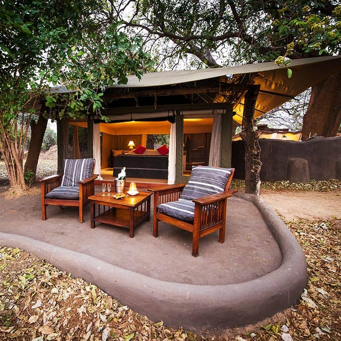View Tena Tena Camp in South Luangwa National Park